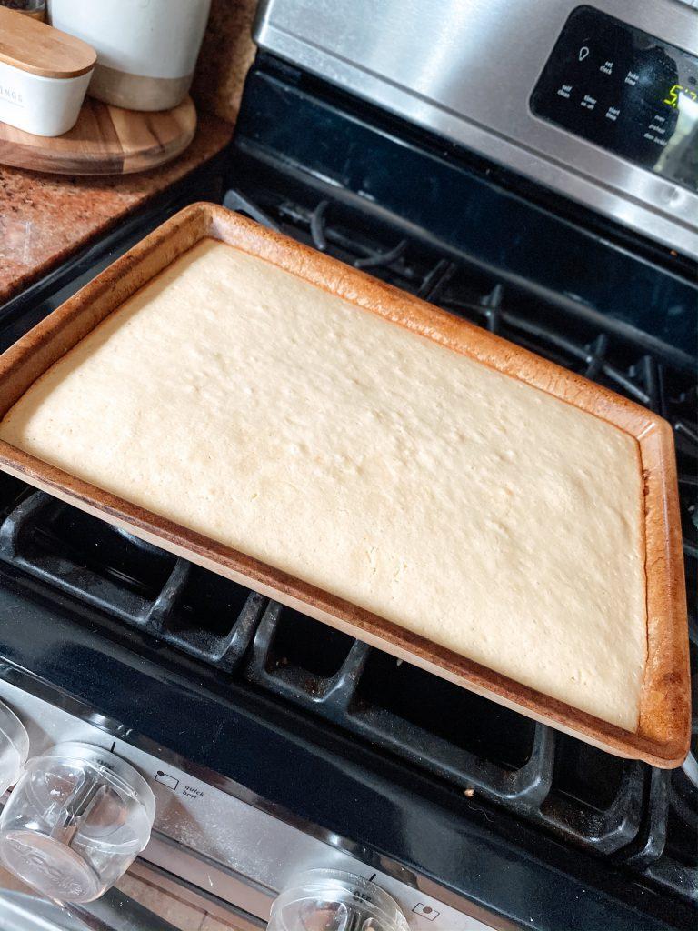 Bar Pan Vanilla Cake