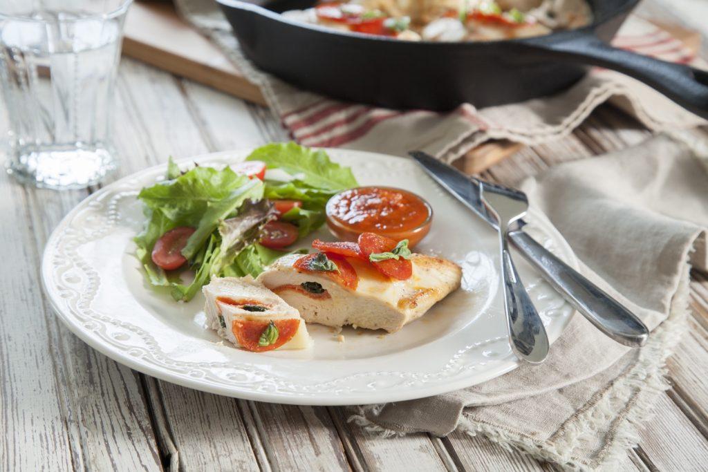 Wednesday: Pizza-Stuffed Chicken