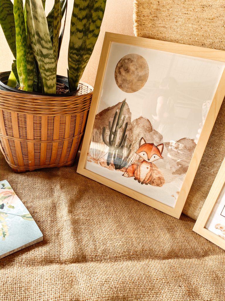 Watercolor Owl Nursery Prints
