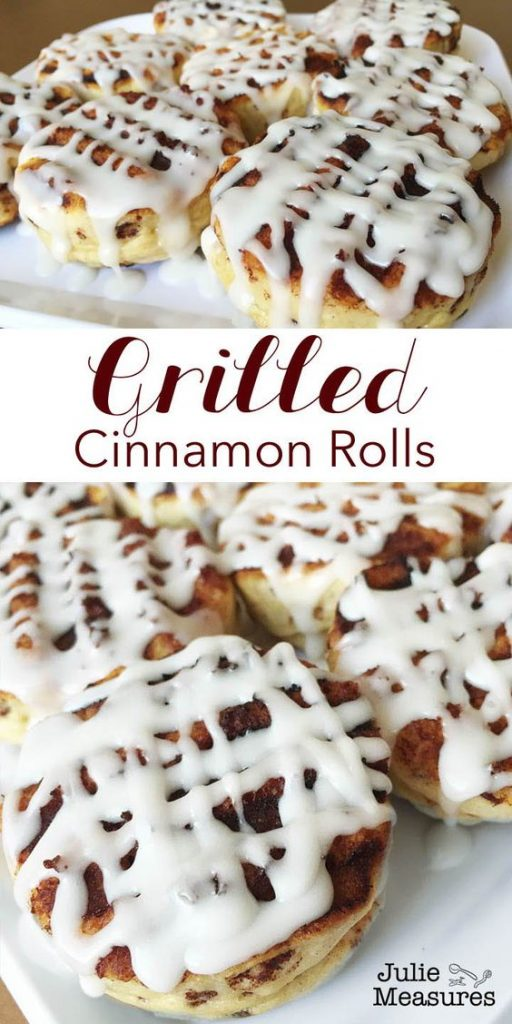 Grilled Cinnamon Rolls