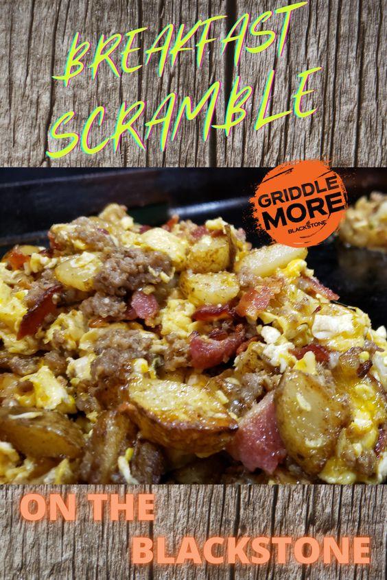 Breakfast Scramble on the Blackstone