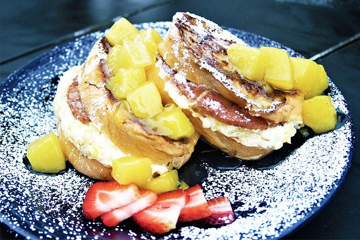 Pineapple and Pork French Toast