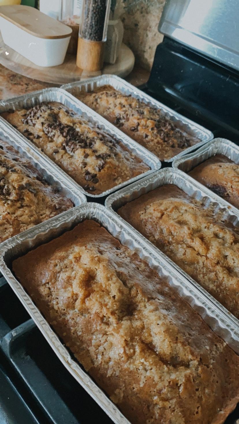 Brown Sugar Banana Bread (Bulk Prep Recipe!)