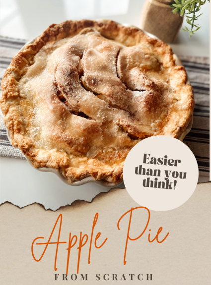 Dang Delicious (& Easy) Apple Pie from Scratch