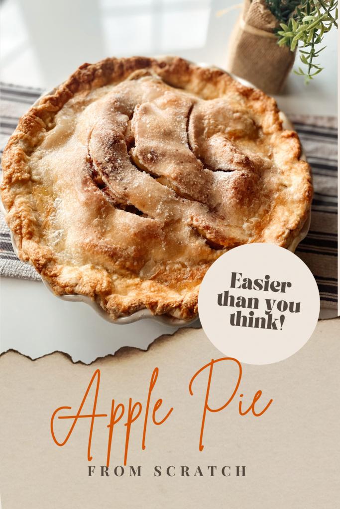 Easy Apple Pie From Scratch