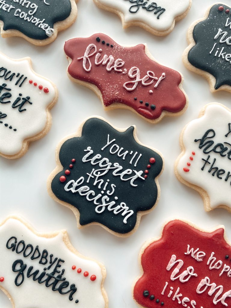 Coworker Goodbye Cookies