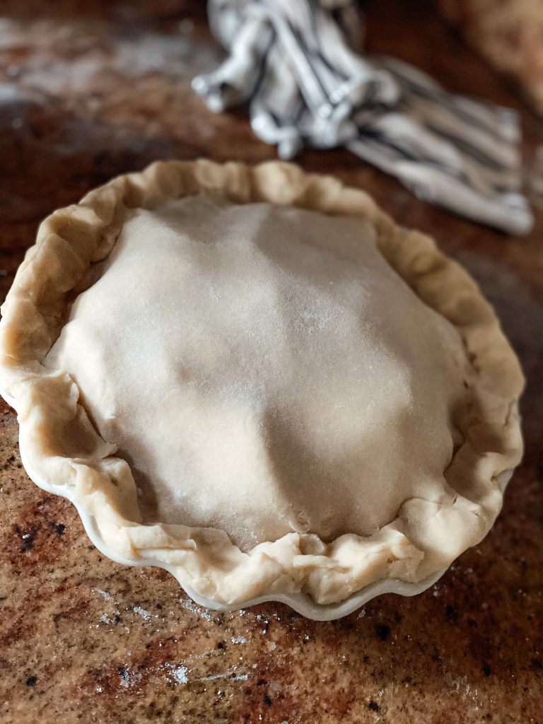 Ready to bake Pie