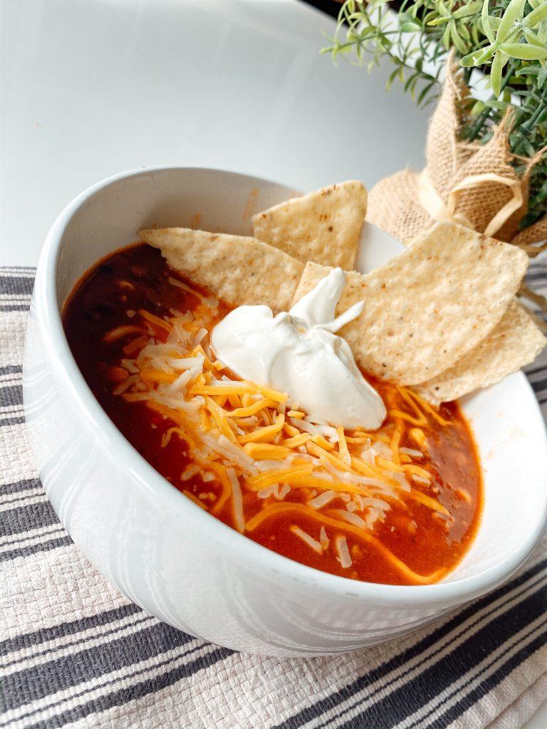 Cozy Slow Cooker Taco Soup